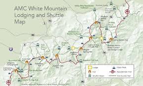 appalachian mountains on map hiker shuttle schedule appalachian mountain