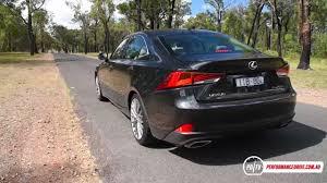 lexus is350 f sport curb weight 2017 lexus is 200t sports luxury 0 100km h u0026 engine sound youtube