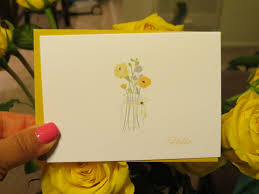 floral boxed notecard set flower note cards gift for