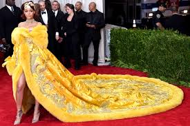the story behind rihanna u0027s red carpet winning met gala dress