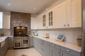 shaker kitchen u2013 white and grey shaker u2013 panorama kitchens liverpool
