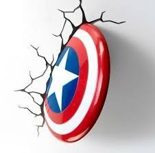 captain america shield light target captain america shield target captain america night light 600x600