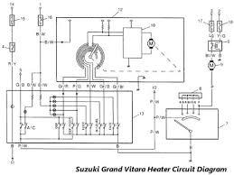 suzuki grand vitara heater circuit
