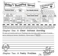 writing parts of speech activity writer s shopping spree