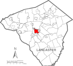 Lancaster Map File Lancaster Lancaster County Highlighted Png Wikimedia Commons