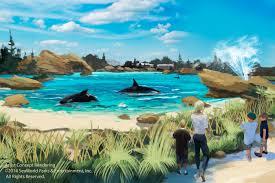 Sea World San Antonio Map by Seaworld To Expand Killer Whale Habitat Kpbs