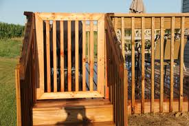 ana white deck gate diy projects