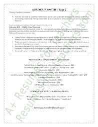 Educator Resume Sample by Beautiful Special Education Teacher Resume Sample Wondrous