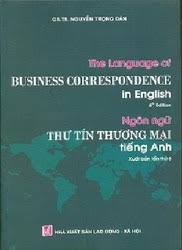 Business Letter Language the language of business correspondence in for