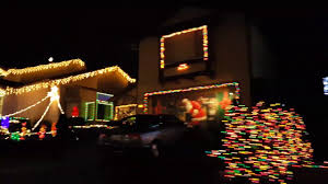 christmas lights san francisco south san francisco naighborhood christmas lights youtube