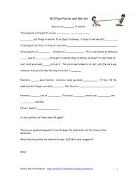 bill nye motion worksheet free worksheets library download and
