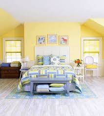 Yellow Accent Wall Yellow Bedroom Walls 17 Vibrant Ideas Contemporary Bedroom With