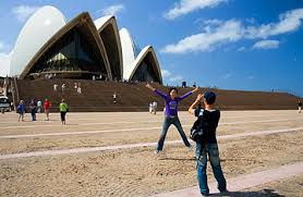 australia tourism bureau australia tells tourists welcome and bring your
