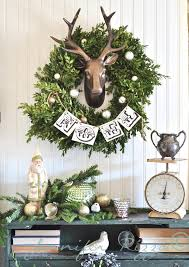 Deer Antler Decorations For Christmas by 11 Charming Ways To Decorate With Boxwood Wreaths This Christmas