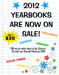 yearbook sale make a school yearbook poster buy yearbook poster ideas