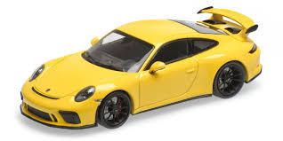 Porsche 911 Yellow - porsche 911 gt3 2017 yellow hobbyland