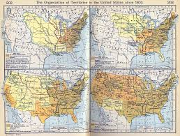 The Map Of United States by Map Of The United States Since 1803