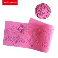 backform hochzeitstorte flower silikon spitze matte backform zucker spitze silikonmatte