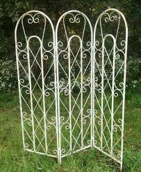 metal garden trellis screen home outdoor decoration