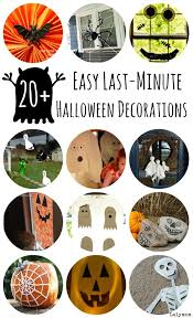 Easy Home Halloween Decorations Last Minute Easy Diy Halloween Decorations Lalymom