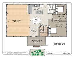 one level house plans open concept