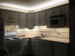 led light stripes under cabinet kitchen lights u2014 completing your