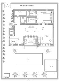 bali villa este seminyak holiday accomodation floor plan