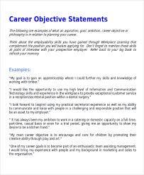 Robert Half Resume Resume Objective Statements Example Resume Objective Statement