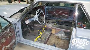 1965 thunderbird restoration detroit deluxe paint body and car