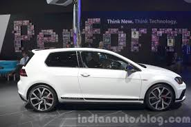 volkswagen golf gti 2015 black 2015 vw golf gti clubsport side at iaa 2015 indian autos blog