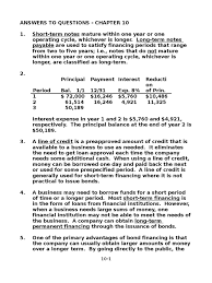 chapter 10 solution of fundamental of financial accouting by