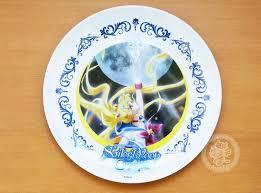 assiette de cuisine décorations maison assiette melamine sailor moon bandai