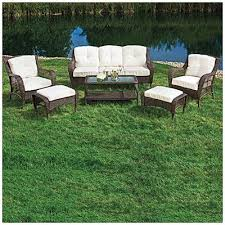 6 Piece Patio Set by Wilson Fisher Patio Furniture Wilson U0026 Fisher Cayman 6 Piece