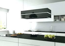 hotte de cuisine blanche hotte ilot blanche design de maison