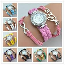 weave wrap bracelet images Infinity watches wrap bracelet watches weave leather wrist watches jpg