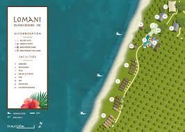 Fiji Islands Map About Fiji Adults Resorts