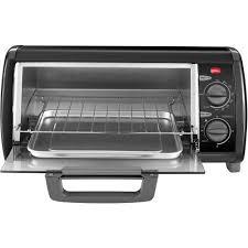 Under Cabinet 4 Slice Toaster Black U0026 Decker 4 Slice Toaster Oven Walmart Com