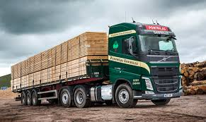 volvo commercial trucks pontrilas sawmills orders seven volvo fh 500s from truck and bus