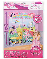 amazon com my little pony scene setter room decoration toys u0026 games