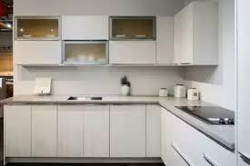 flat white wood kitchen cabinets european