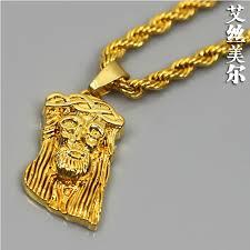 gold jesus pendant necklace images Classy 24k gold necklace for men 24k 22k cross solid chain jpg