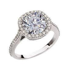 moissanite vintage engagement rings antique designer halo cushion moissanite engagement ring
