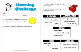 music listening worksheet free worksheets library download and