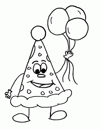 balloon coloring pages for kids coloring home
