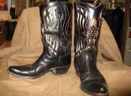 womens vintage cowboy boots size 9 vintage cowboy boots