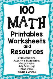 Worksheets For Math Best 25 Math Worksheets Ideas On Pinterest Grade 3 Math