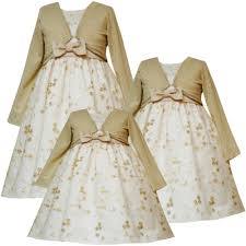 Gold Sequin Cardigan Rare Editions Baby Infant Girls 12m 24m 3 Piece Ivory Gold Sequin