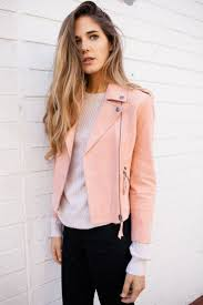 pink motorcycle jacket best 25 pink leather jackets ideas on pinterest pink leather