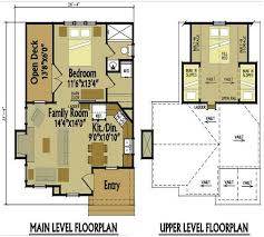 100 floor plan with loft chalet small log cabin plans