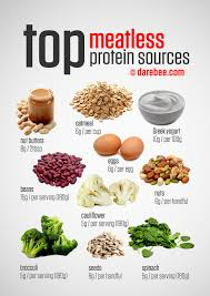top meatless vegetarian protein sources add adha meal plan